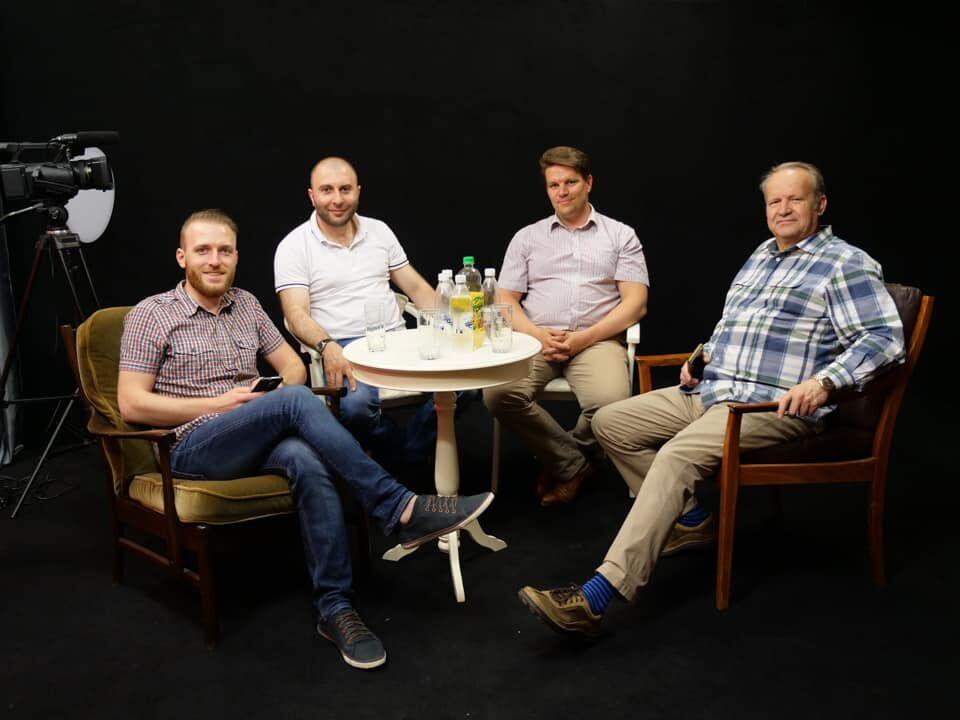 Делегация телеканала «Небеса ТВ7» посетила Украину