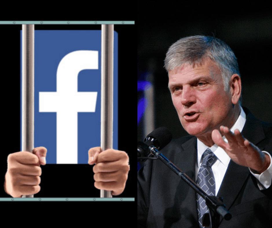 Facebook заблокировал Франклина Грэма